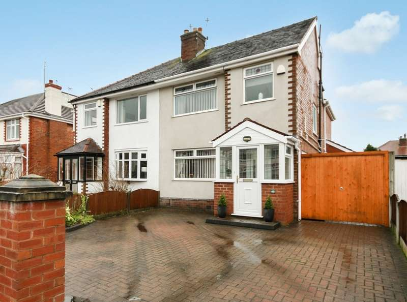 4 Bedrooms Semi Detached House for sale in Rathmore Crescent, Southport