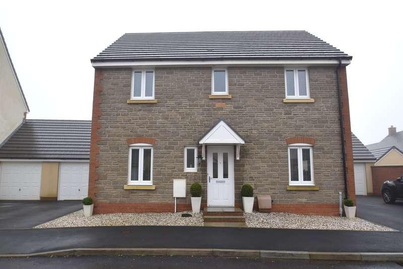 4 Bedrooms Detached House for sale in 89 Ffordd Y Draen, Coity, Bridgend, Bridgend County Borough, CF35 6FQ.