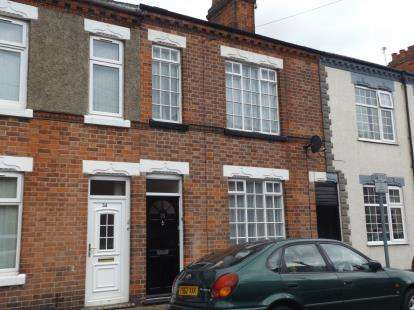 3 Bedrooms Terraced House for sale in Cartwright Street, Loughborough, Leicestershire