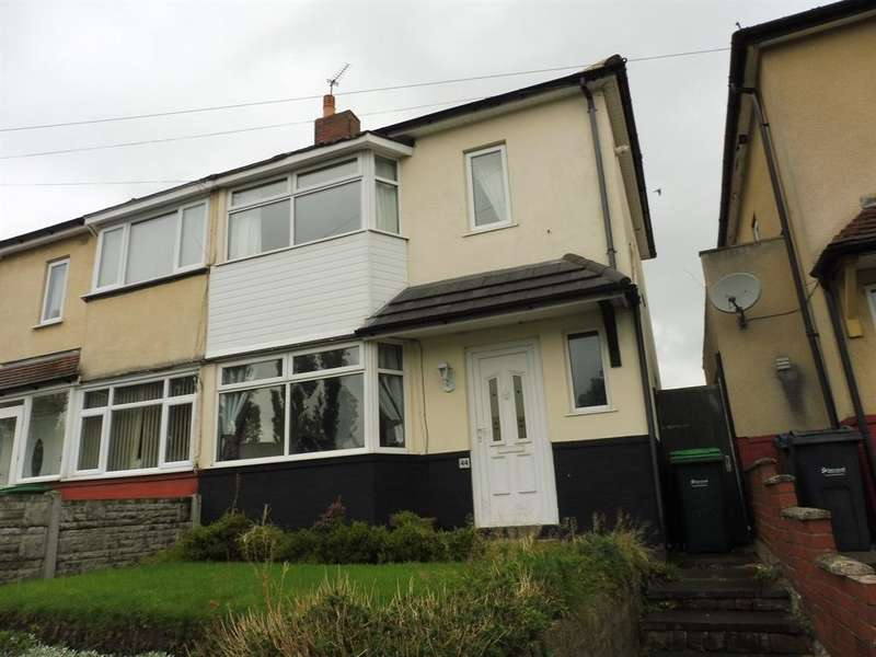 2 Bedrooms Semi Detached House for sale in COLES LANE, WEST BROMWICH, B71 2QJ