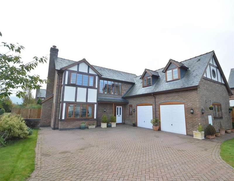 4 Bedrooms Detached House for sale in 9 Brydges Gate, Llandrinio, Llanymynech, SY22 6TU
