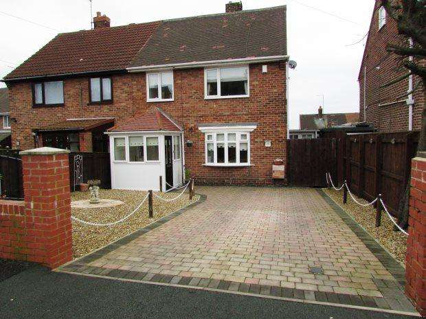 3 Bedrooms Semi Detached House for sale in WORDSWORTH AVENUE, SEAHAM, SEAHAM DISTRICT