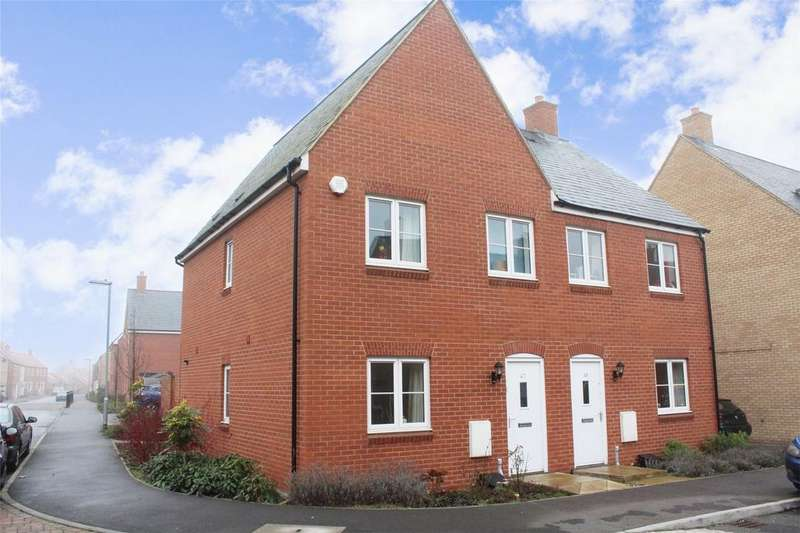 3 Bedrooms Semi Detached House for sale in Willowherb Way, Stotfold, Hitchin, Hertfordshire