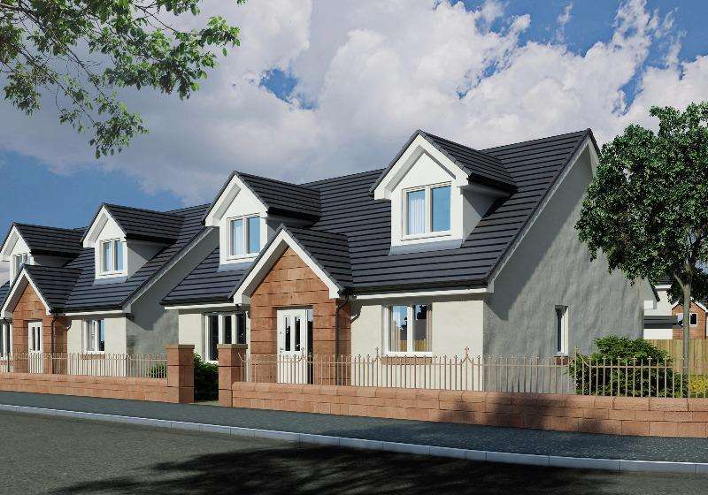 3 Bedrooms Detached House for sale in Willie McKelvey Brae, Kilmarnock, East Ayrshire, KA1 3AT