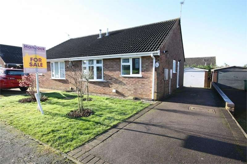 2 Bedrooms Semi Detached Bungalow for sale in Robin Crescent, MELTON MOWBRAY