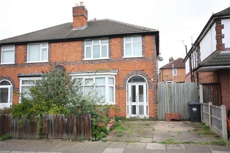 3 Bedrooms Semi Detached House for sale in Gainsborough Road, LEICESTER