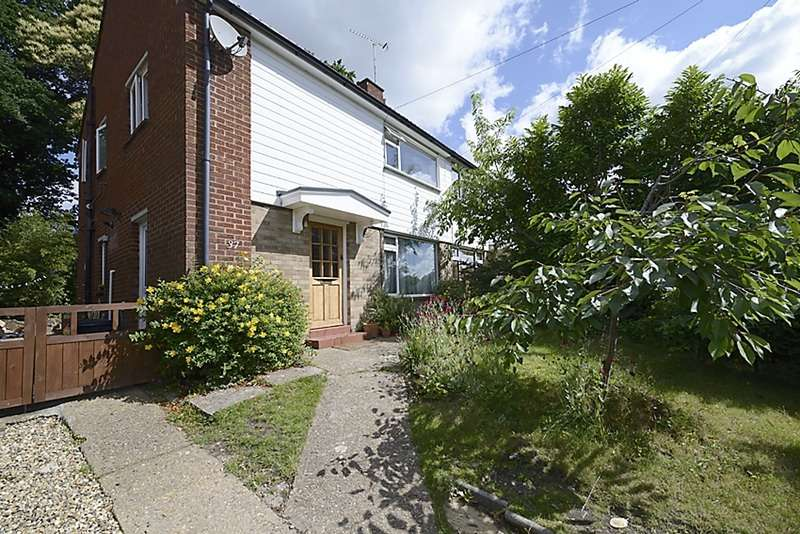 3 Bedrooms Semi Detached House for sale in Evergreen Road, Frimley, Camberley, Surrey, GU16