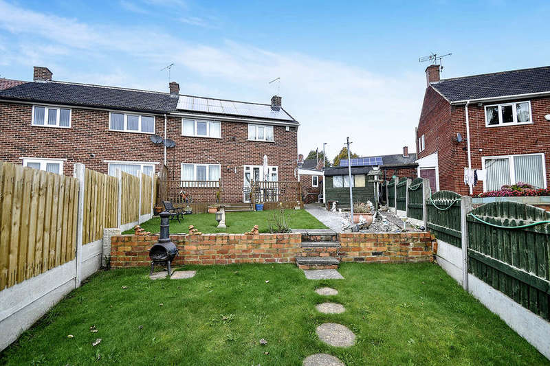 3 Bedrooms Semi Detached House for sale in Walbrook, Worsbrough, Barnsley, S70