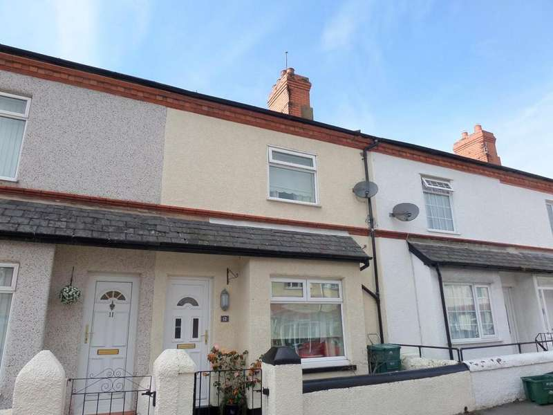 2 Bedrooms Terraced House for sale in Oswald Road, Llandudno Junction