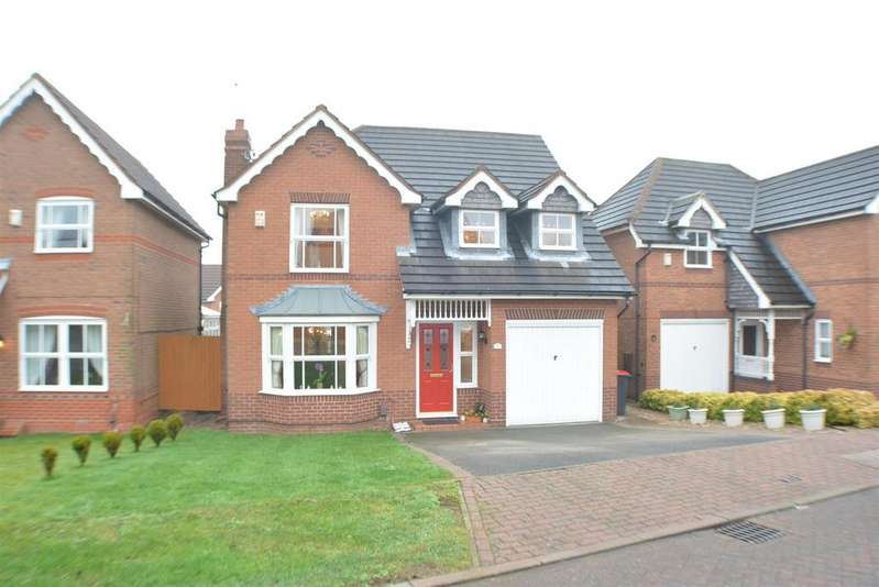 4 Bedrooms Detached House for sale in Hill Top View, Sutton-In-Ashfield