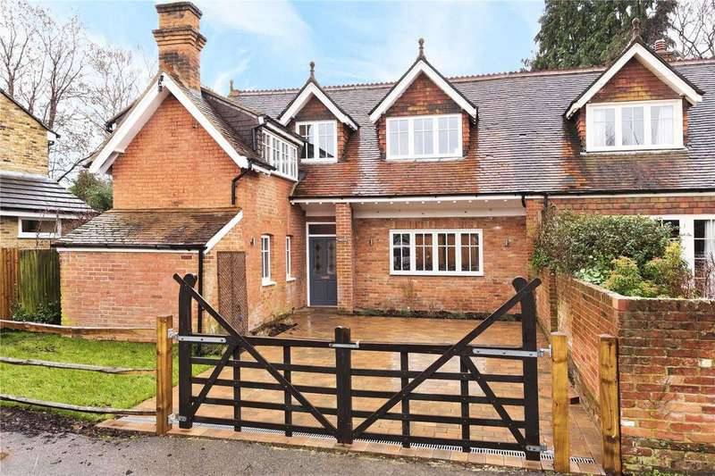3 Bedrooms Semi Detached House for sale in St. Georges Road, Weybridge, KT13