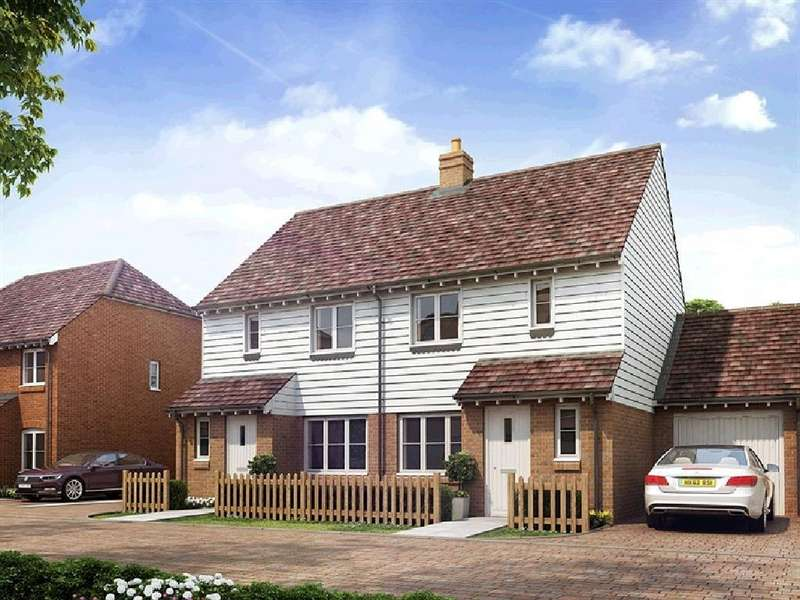 3 Bedrooms Semi Detached House for sale in Station Road, Northiam