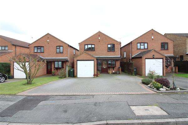4 Bedrooms Detached House for sale in Broadlands Close, Broad Lane, Coventry