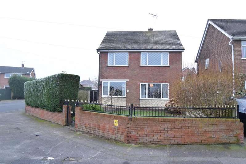 3 Bedrooms Detached House for sale in Upton Mount, Mansfield