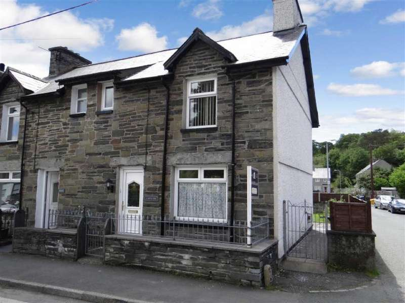 2 Bedrooms Semi Detached House for sale in Church Street, Dolwyddelan