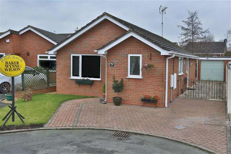2 Bedrooms Detached Bungalow for sale in St Lawrence Court, Nantwich, Cheshire