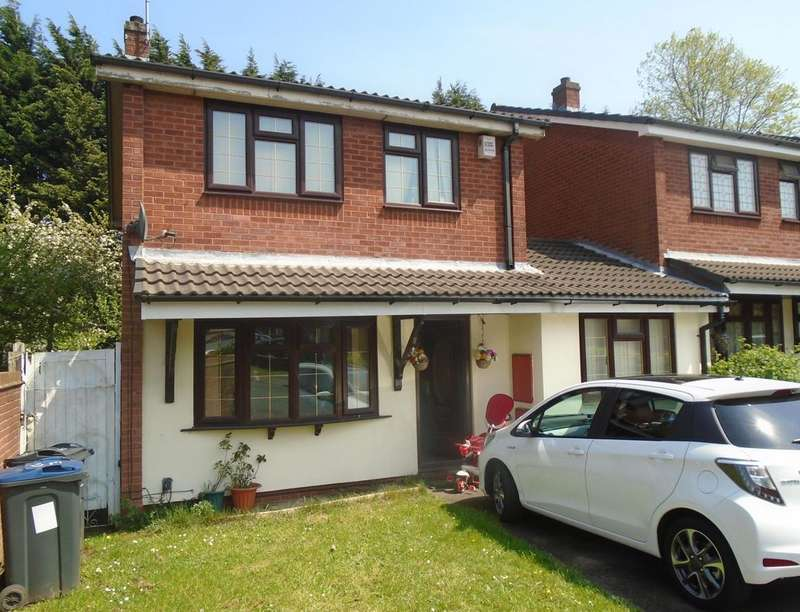 4 Bedrooms Detached House for sale in Roach Pool Croft, Birmingham, B16
