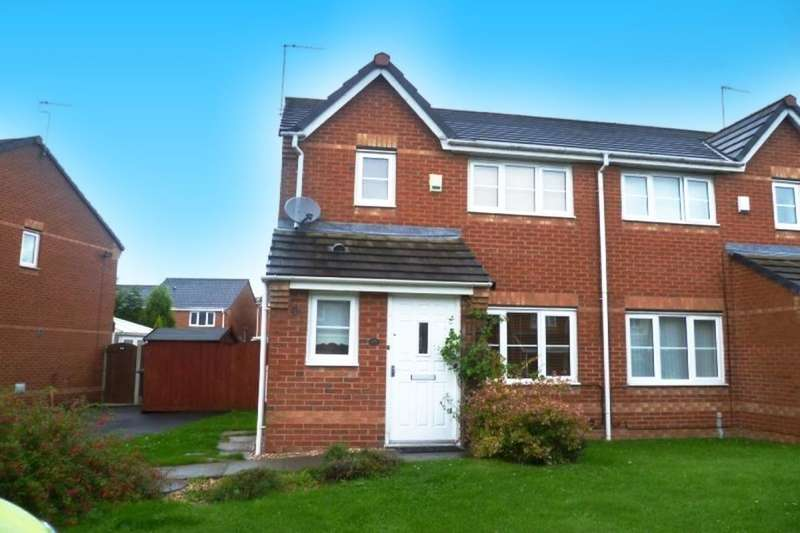 3 Bedrooms Semi Detached House for sale in Mercury Way, Skelmersdale, WN8