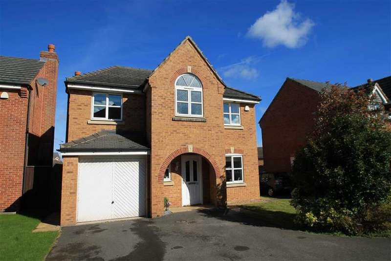 4 Bedrooms Detached House for sale in St Giles Park, Gwersyllt, Wrexham