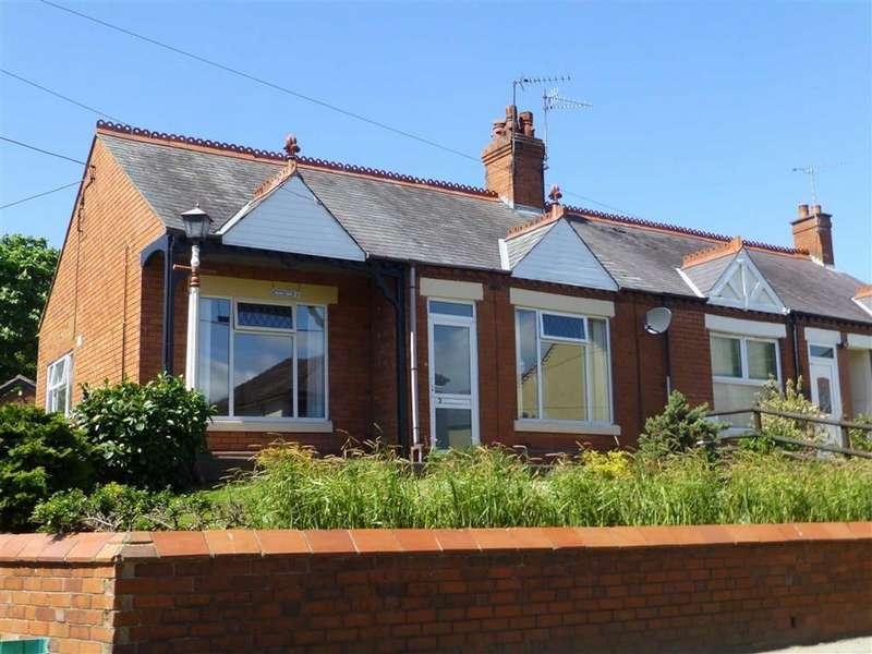 3 Bedrooms Semi Detached Bungalow for sale in Bryn Dedwydd, Rhos, Wrexham
