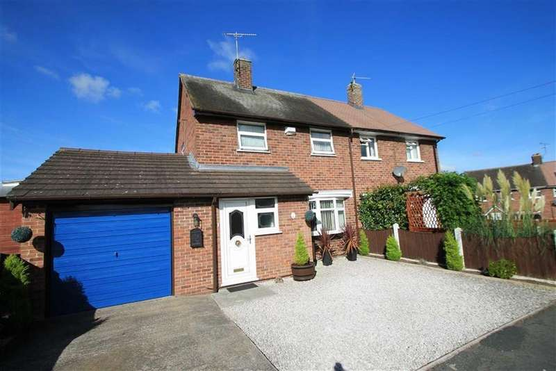 3 Bedrooms Semi Detached House for sale in The Glen, Marchwiel, Wrexham