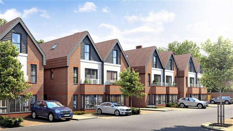 3 Bedrooms Semi Detached House for sale in Catherine's Walk, Chestnut Avenue, Guildford, Surrey, GU2