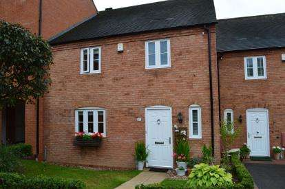3 Bedrooms Terraced House for sale in Beacon Mews, Off Beacon Street, Lichfield, Staffordshire