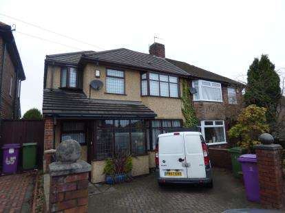 3 Bedrooms Semi Detached House for sale in Rocky Lane, Childwall, Liverpool, Merseyside, L16