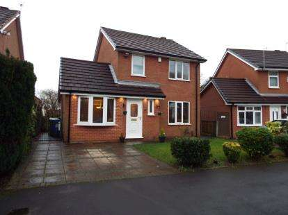 3 Bedrooms Detached House for sale in Gregory Avenue, Atherton, Manchester, Greater Manchester