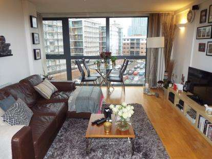2 Bedrooms Flat for sale in The Rhine, 32 City Road East, Manchester, Greater Manchester