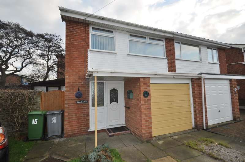 3 Bedrooms Semi Detached House for sale in Heyes Drive, Wallasey, CH45 8QL