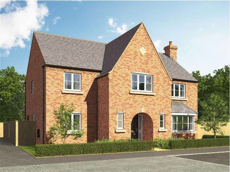 4 Bedrooms Detached House for sale in ' The Bridgmere' The Croft, Littlethorpe, Leicestershire