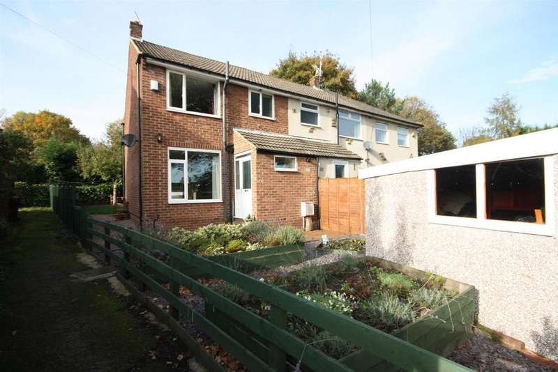 3 Bedrooms Semi Detached House for sale in Petrie Crescent, Rodley