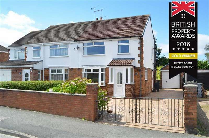 3 Bedrooms Semi Detached House for sale in Chester Road, Whitby, Ellesmere Port