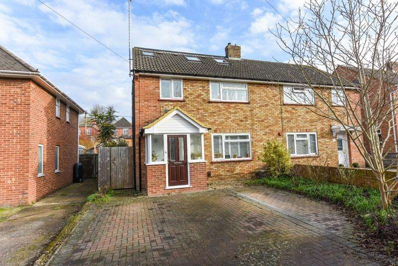4 Bedrooms Semi Detached House for sale in South View Gardens, Andover