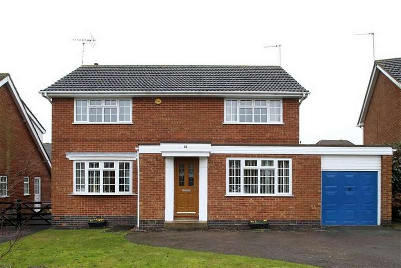 4 Bedrooms Detached House for sale in Macaulay Road, Lutterworth, Leicestershire