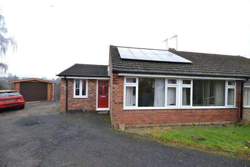 3 Bedrooms Semi Detached Bungalow for sale in Grosvenor Wood, Bewdley