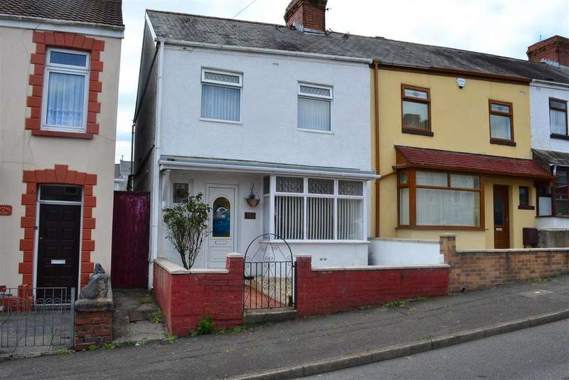 2 Bedrooms End Of Terrace House for sale in Cecil Street, Manselton, Swansea