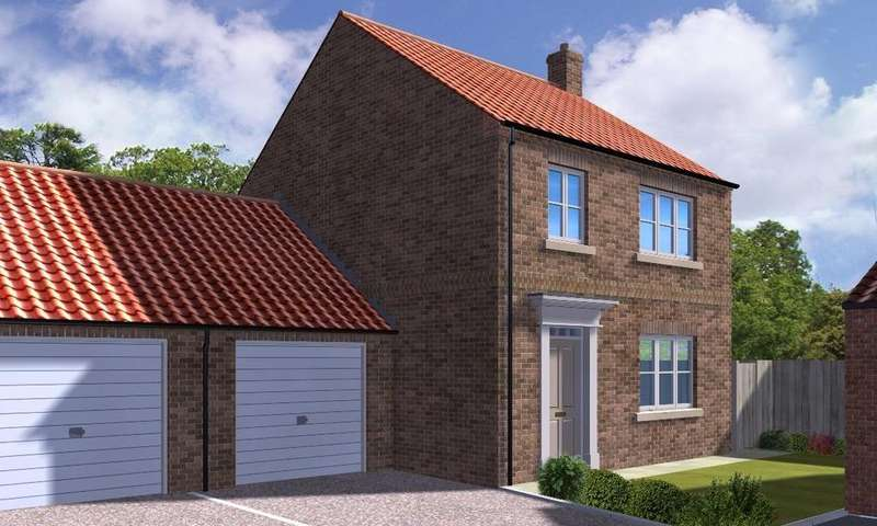 4 Bedrooms Link Detached House for sale in Plot 7 Corner Farm, Osgodby, Selby