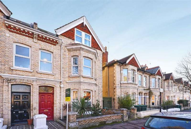 5 Bedrooms Semi Detached House for sale in Portland Road, Hove