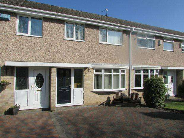 3 Bedrooms Town House for sale in MIDDLEHAM WALK, SPENNYMOOR, SPENNYMOOR DISTRICT