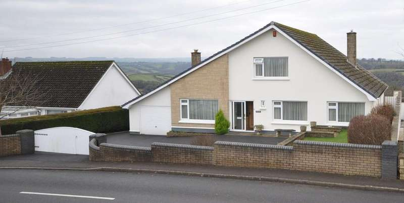 5 Bedrooms Detached House for sale in White Gates. Heol Llyn y Fran Road, Llandysul, SA44 4HR