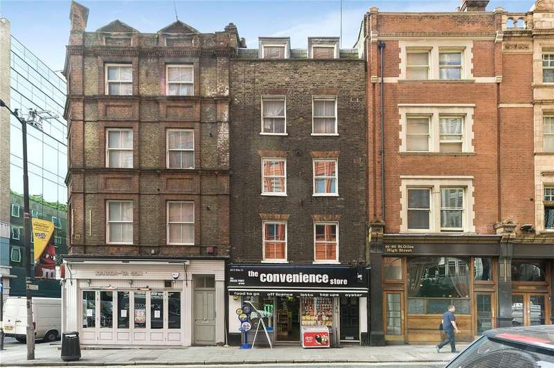2 Bedrooms Apartment Flat for sale in St Giles High Street, Covent Garden, WC2H