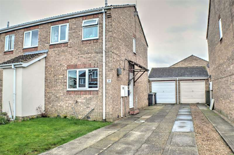 2 Bedrooms Semi Detached House for sale in Boundary Pastures, Sleaford