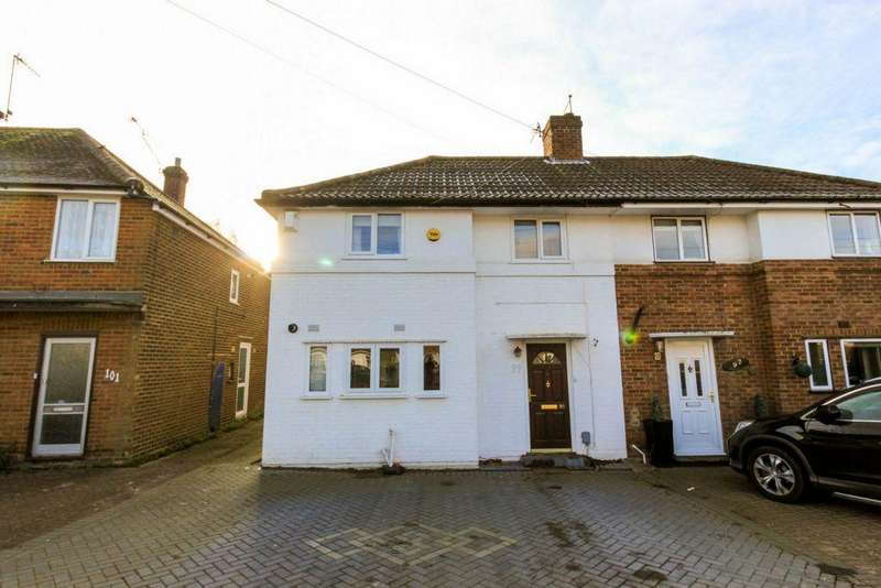 4 Bedrooms Semi Detached House for sale in Crawford Road, Hatfield, AL10