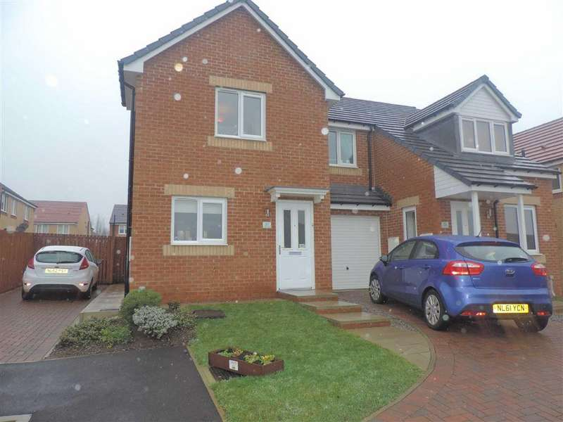 2 Bedrooms Semi Detached House for sale in Viscount Close, Catchgate, County Durham