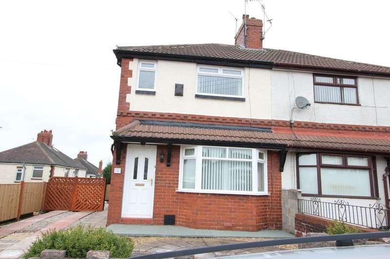 2 Bedrooms Semi Detached House for sale in Stoneleigh Road, Chell, Stoke-On-Trent, ST6