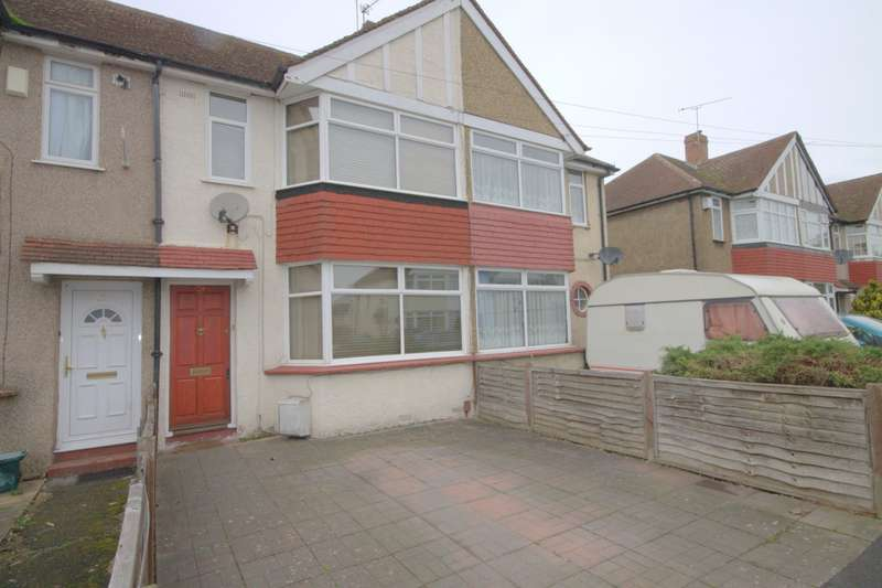 2 Bedrooms Terraced House for sale in Cravan Avenue, Feltham, TW13