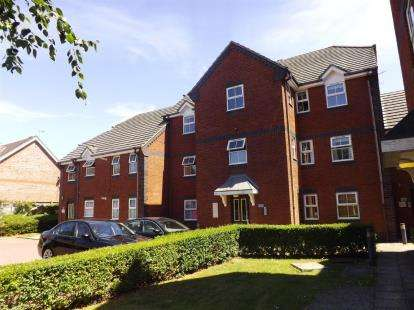 2 Bedrooms Flat for sale in Nightwood Copse, Peatmoor, Swindon, Wiltshire
