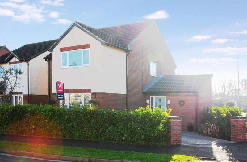 4 Bedrooms Detached House for sale in Thames Drive, Taunton